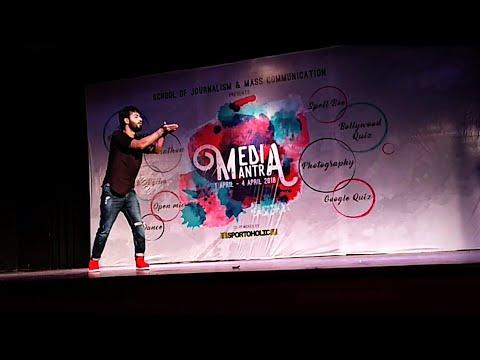 Silsila Ye Chaahat Ka | Vipin sharma Dance | Judge Dance Showcase Davv Indore IMPROMPTU PERFORMANCE