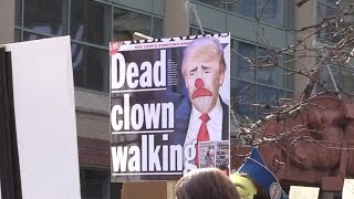 HILARIOUS: Buffalo anti-Trump protestors explain why they hate