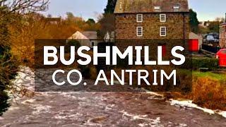 BUSHMILLS TOWN - The Gateway to Bushmills Distillery - Bushmills Northern Ireland - County Antrim