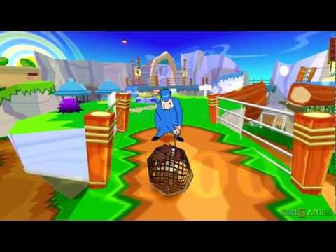 Taz Wanted - Gameplay PS2 HD 720P