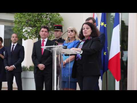 Ambassador Bermann makes her final 14 July speech