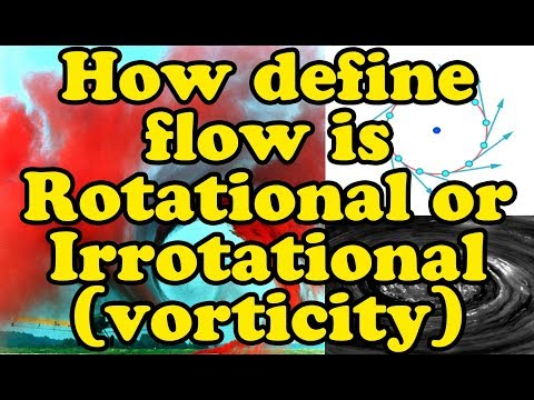 Rotational or Irrotational flow in Hindi | what is vorticity and circulation | irrotational equation