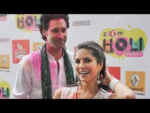 Download Sunny Leone CELEBRATES HOLI & PERFORMS at Zoom Holi Party 2014