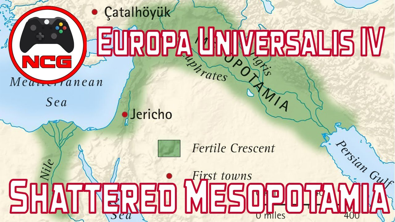 Where Is Mesopotamia On A World Map.Europa Universalis Iv Custom Nation World Building Shattered