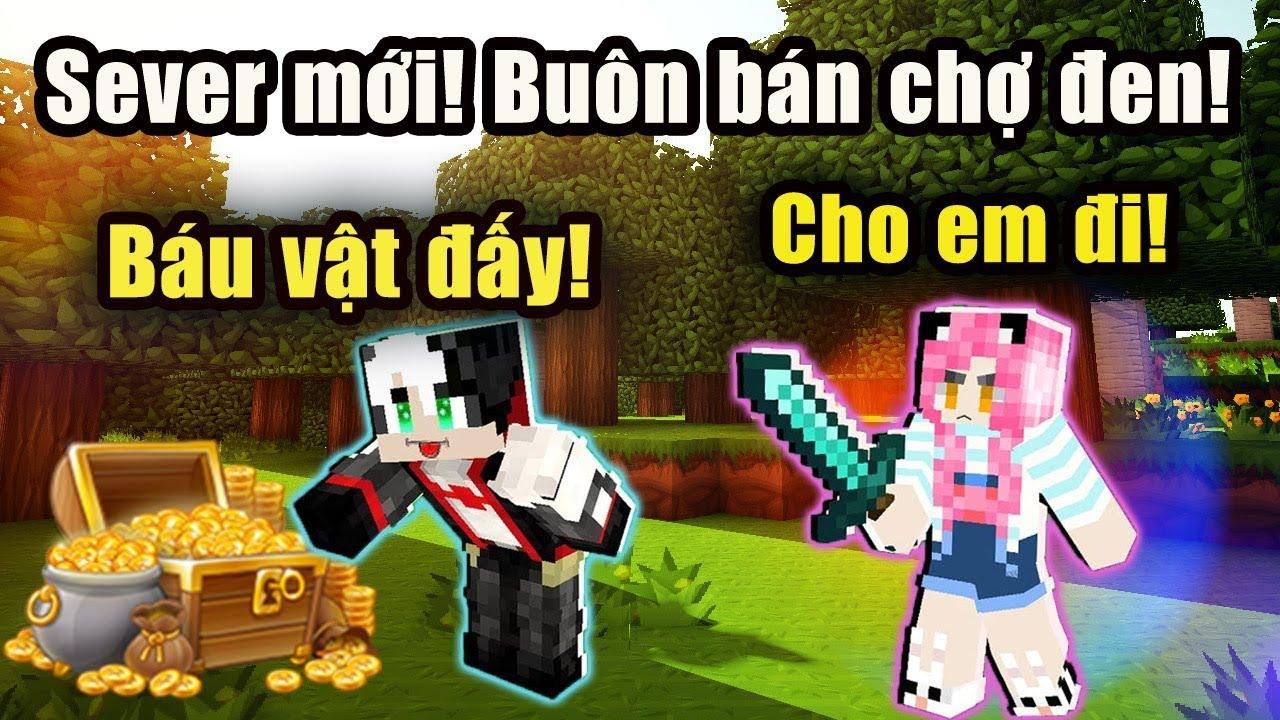 Chợ Đen trong Server Minecraft mới! | Meu San va Redhood Live Stream on Nonolive!