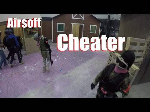 Airsoft CHEATER full autos kid FROM POINT BLANK