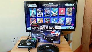 Sega Mega Drive Mİni 16-BIT || UNBOXING || European Version