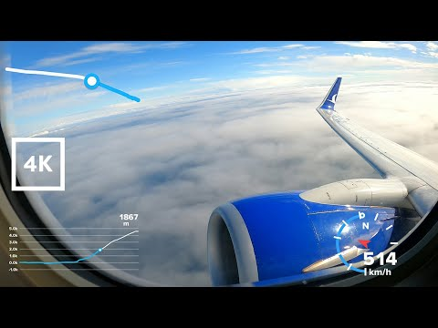 TRABZON HAVALİMANI'NDAN KALKIŞ #ANADOLUJET #GoPro GPS Telemetry #Boeing737 #GoPro8 - #4K