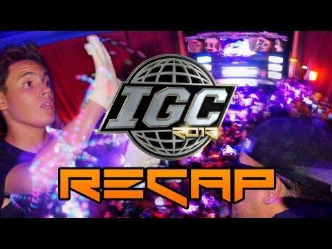IGC 2013 Gloving Competition Official Recap [EmazingLights.com]