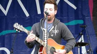"""David Cook """"Rolling In The Deep"""" Acoustic (Adele/Cover) @Pet-a-Palooza, Las Vegas 4.9.2011"""