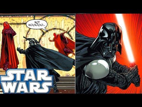 Why Darth Vader KILLED 4 Royal Guards - Star Wars Comics Explained