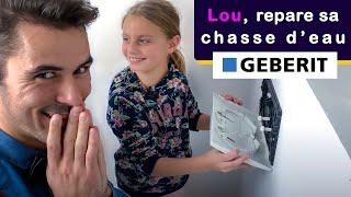 Comment Reparer Une Chasse D Eau Qui Fuit Wc Suspendu Geberit Lou 8 Ans Linstan Youtube