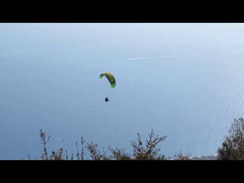 Alassio SV paragliding decollo Francesco Clemente 18 NOV 2017