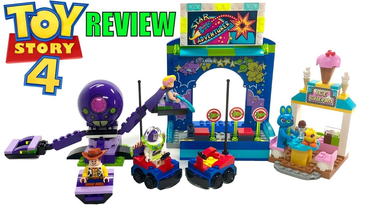 Buzz Woody S Carnival Mania 10770 Lego Toy Story 4 Review Youtube