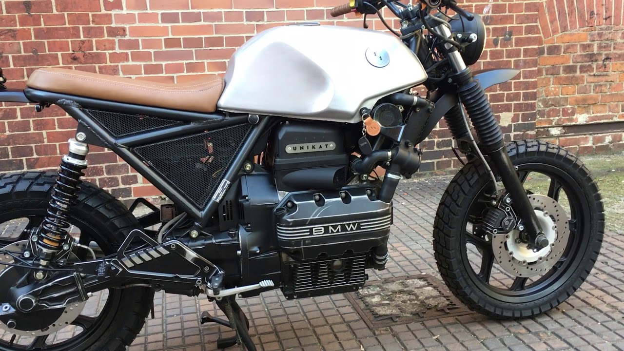 bmw k75 scrambler by unikat motorworks 1 1 youtube. Black Bedroom Furniture Sets. Home Design Ideas