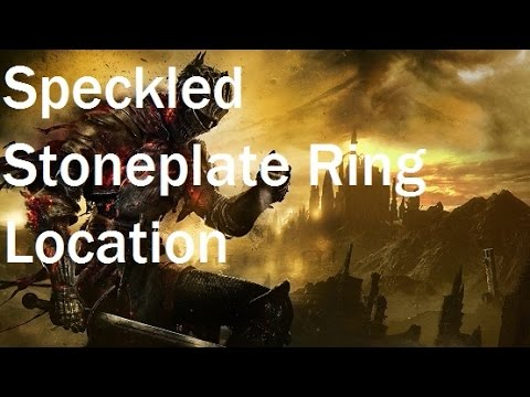 Dark Souls 3 - Speckled Stoneplate Ring Location