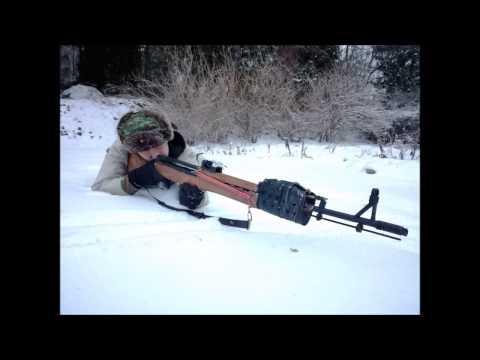 Homemade DIY Airsoft Gun, SVT-40 Rifle