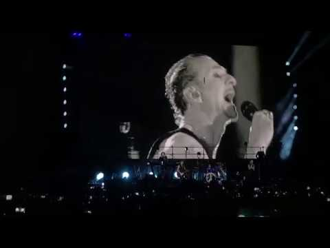 Concierto DEPECHE MODE CD MEXICO 13 de MARZO 2018 Parte 2 de 3