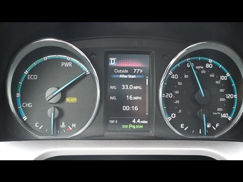 Rav4 Hybrid 0 to 60 mph and mpg update
