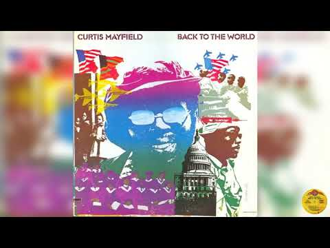 Curtis Mayfield - Right On For The Darkness (Curtom.records.CRS-8015.U.S.A.1973)
