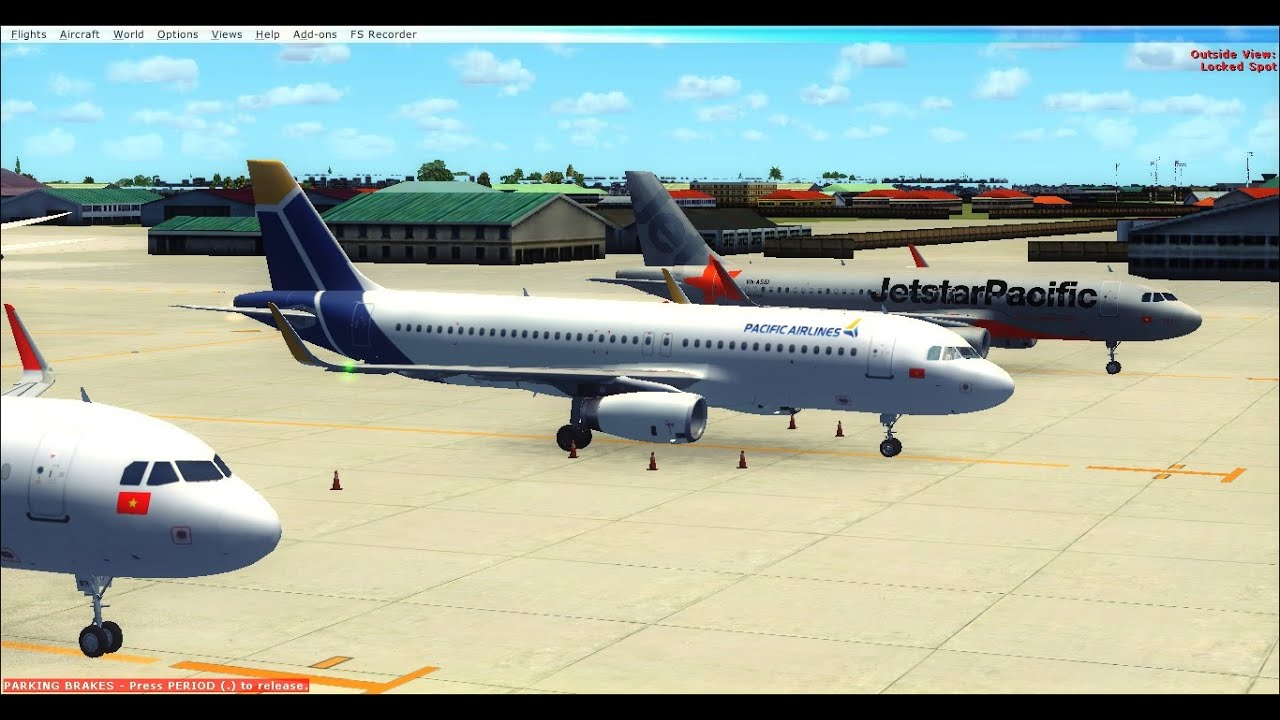Fsx Airbus A320 Pacific Airlines Vietnam Test Flight Vvts Youtube