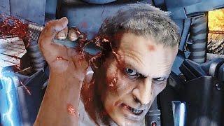 Wolfenstein The Old Blood Gameplay - Brutal Kills & Nazi Boss Fight