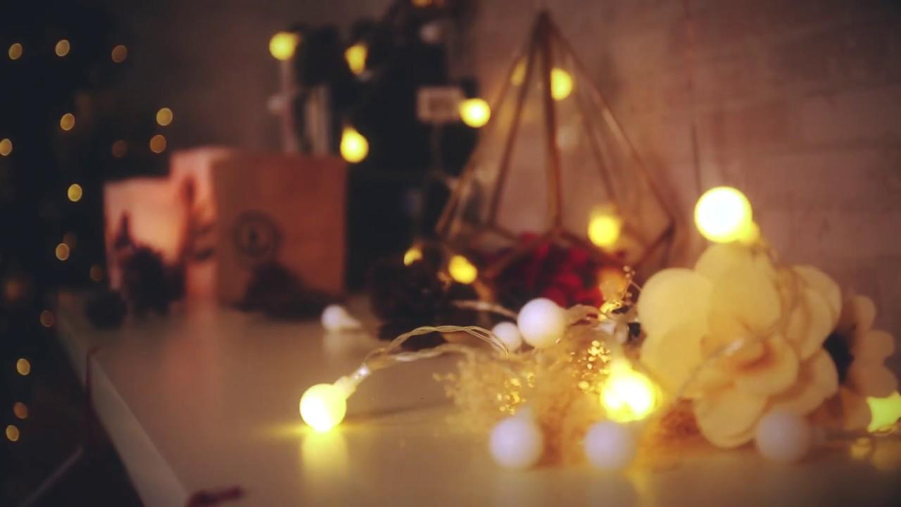 13m 100 led plug in globe christmas string lights warm white