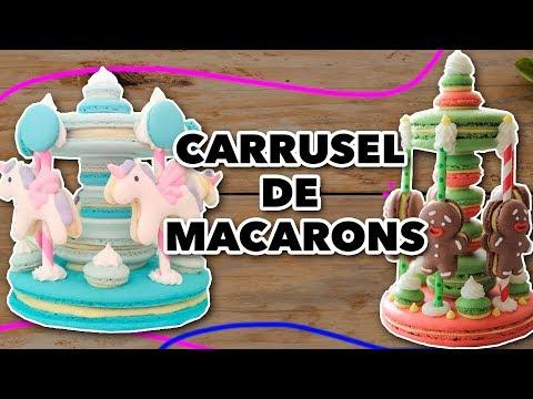 CARRUSEL DE MACARONS. EXPECTATIVA/REALIDAD FT @ivanzavalasugarart