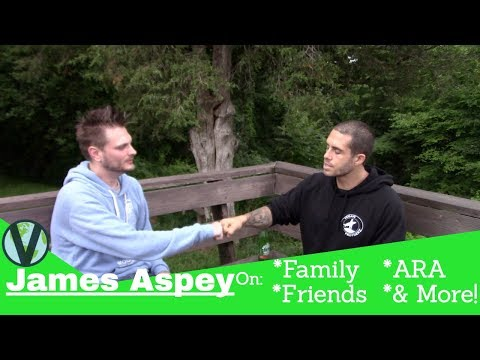 James Aspey Interview About Family, Friends, ARA and More!