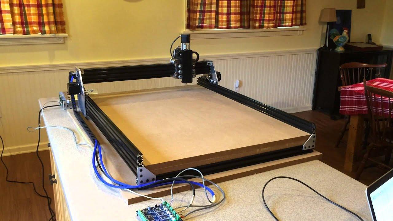 Rapid Test Openbuilds Ox Diy Cnc Kit From Smw3d Com