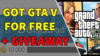 GETTING GTA V FOR FREE WITH  EBONUS.GG