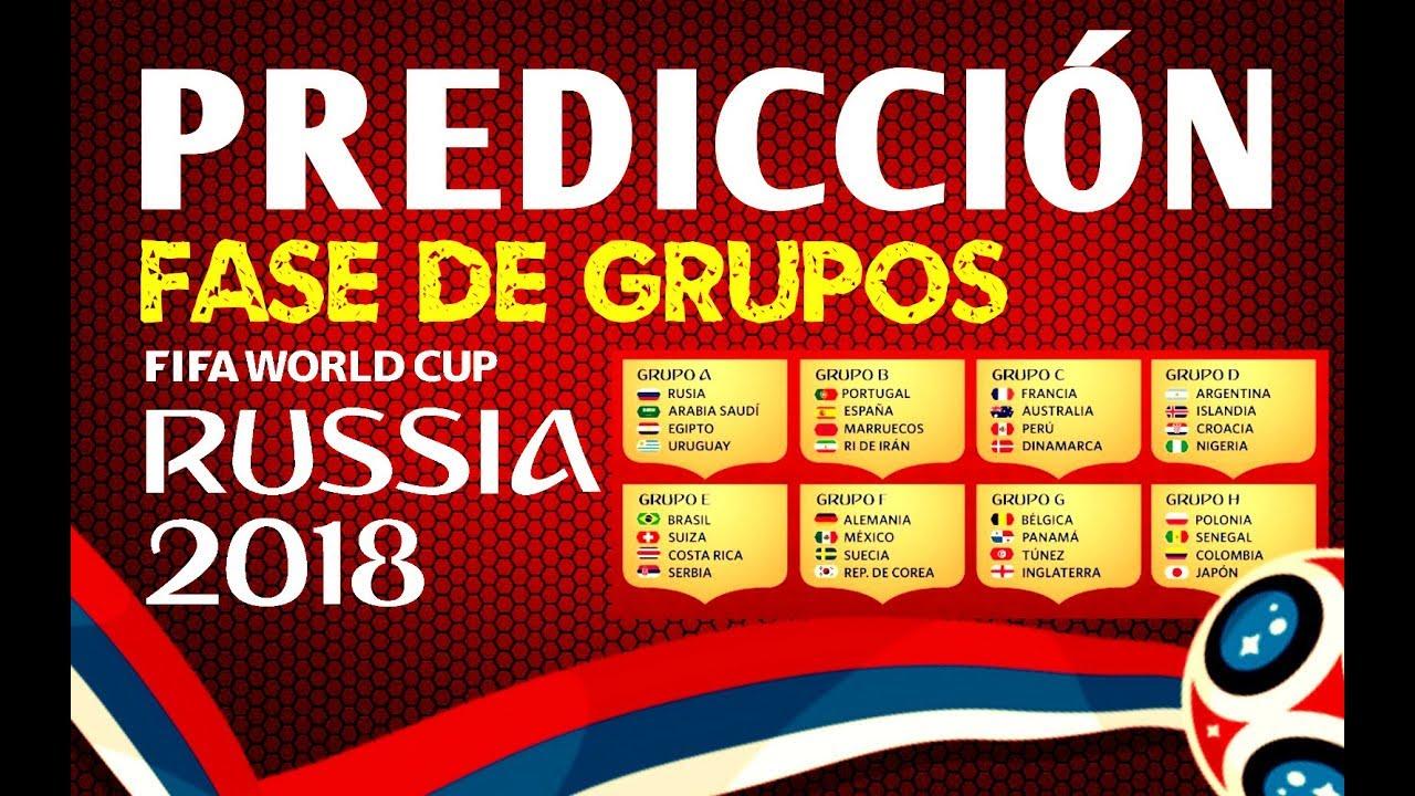 fase de grupos rusia 2019