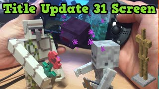 Minecraft Xbox 360 / VITA TU31 Shown: Endermites, Flowers & Biomes
