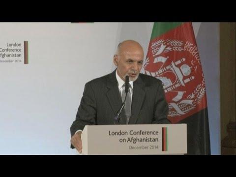 Ghani promises self-reliant Afghanistan at London talks