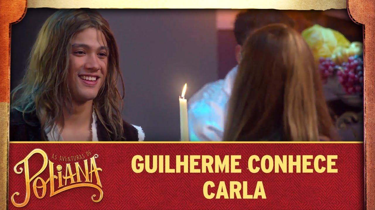Guilherme se encanta por Carla | As Aventuras de Poliana