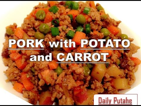PORK With POTATO And CARROT