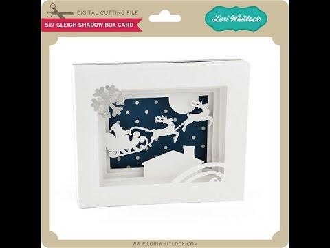 5x7 Shadow Box Card YouTube
