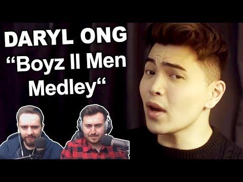 Daryl Ong - Boyz II Men Medley Singers Reaction