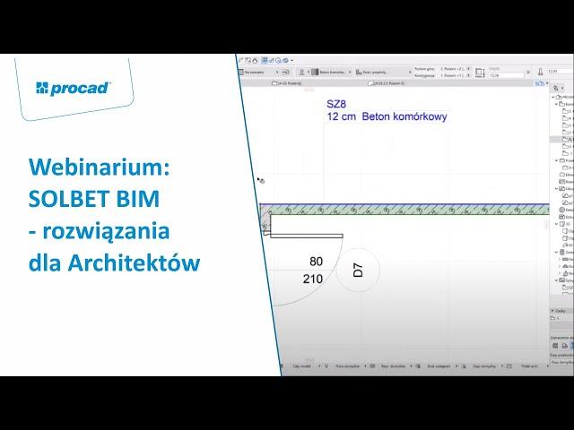 SOLBET BIM - rozwiązania dla Architektów | Webinarium