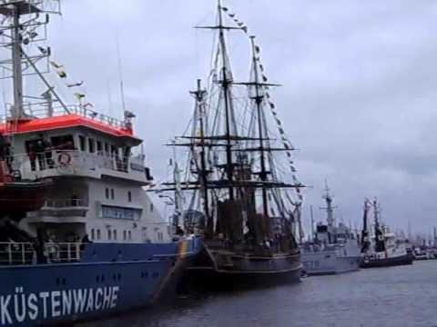 HMS Bounty in Bremerhaven 29.07.2011