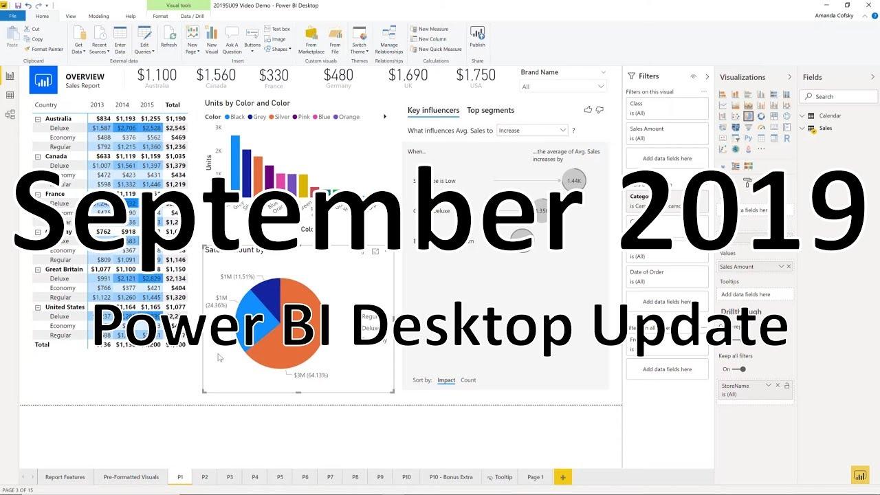 Power BI Desktop September 2019 Feature Summary | Microsoft