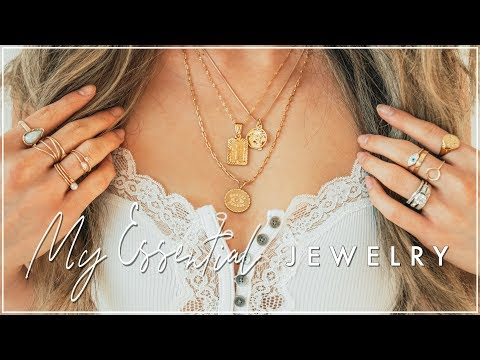 My Essential Everyday Jewelry | Where I buy my jewelry | Miss Louie Jewelry Collection  | Miss Louie
