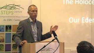 Johan Rockström: Planetary Boundaries and the Anthropocene