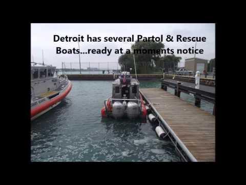 Coast Guard Base Tour- Belle Isle Station- Summer