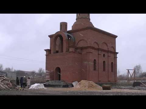 В с. Кузовка Богородицкого района возводят новую церковь