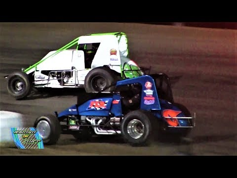 6-9-18 MTS Sprint Feature  Merritt Speedway