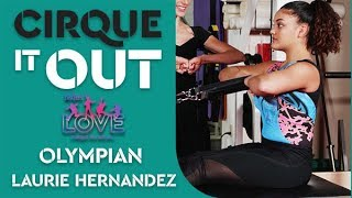 Pilates Exercises with Olympic Gold Medalist Laurie Hernandez | Cirque It Out #7 - Reformer Workout