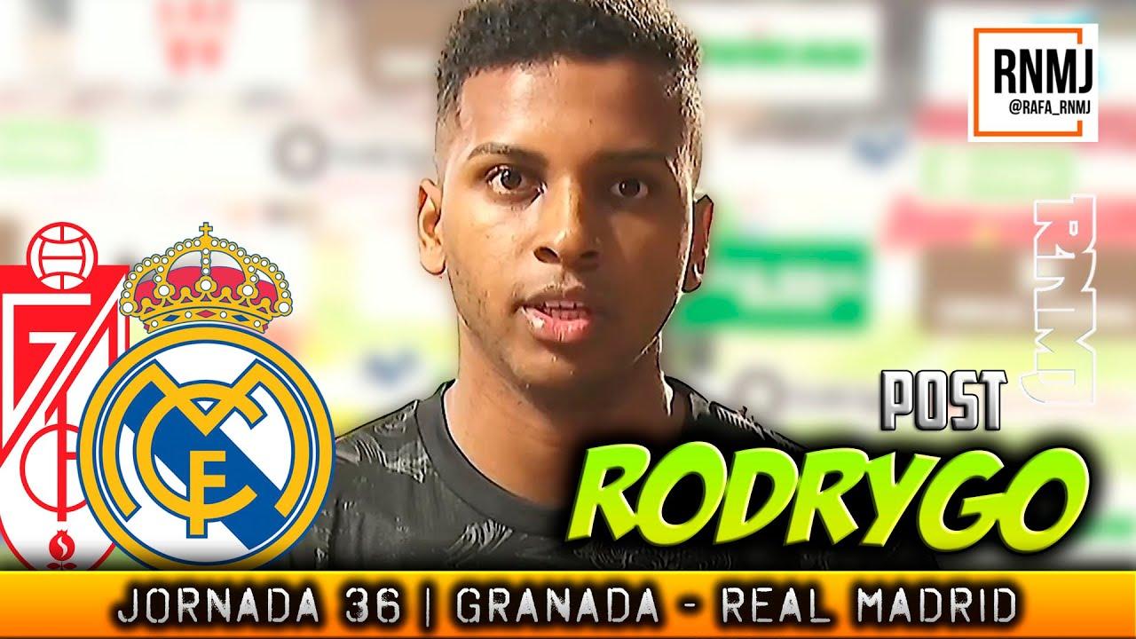 Declaraciones de RODYRGO post post Granada CF - Real Madrid (13/05/2021)