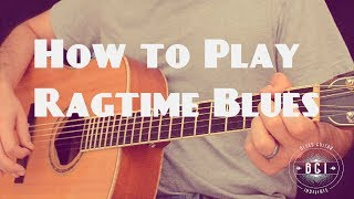 Decoded: Common Ragtime Blues and Piedmont Blues Guitar Chord Progression streaming