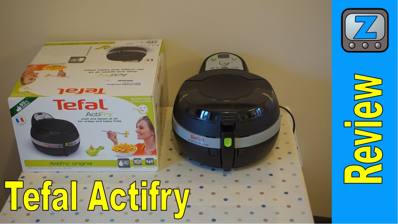 Tefal Actifry Review and Demo